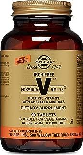 Solgar – Iron-Free Formula VM-75, 90 Tablets