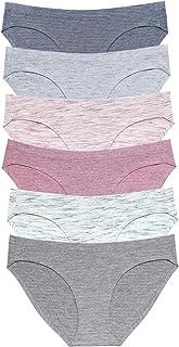 Wealurre Viscose Cotton Bikini Women's Breathable Panties Seamless Comfort Underwear