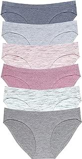 Viscose Cotton Bikini Women's Breathable Panties Seamless Comfort Underwear