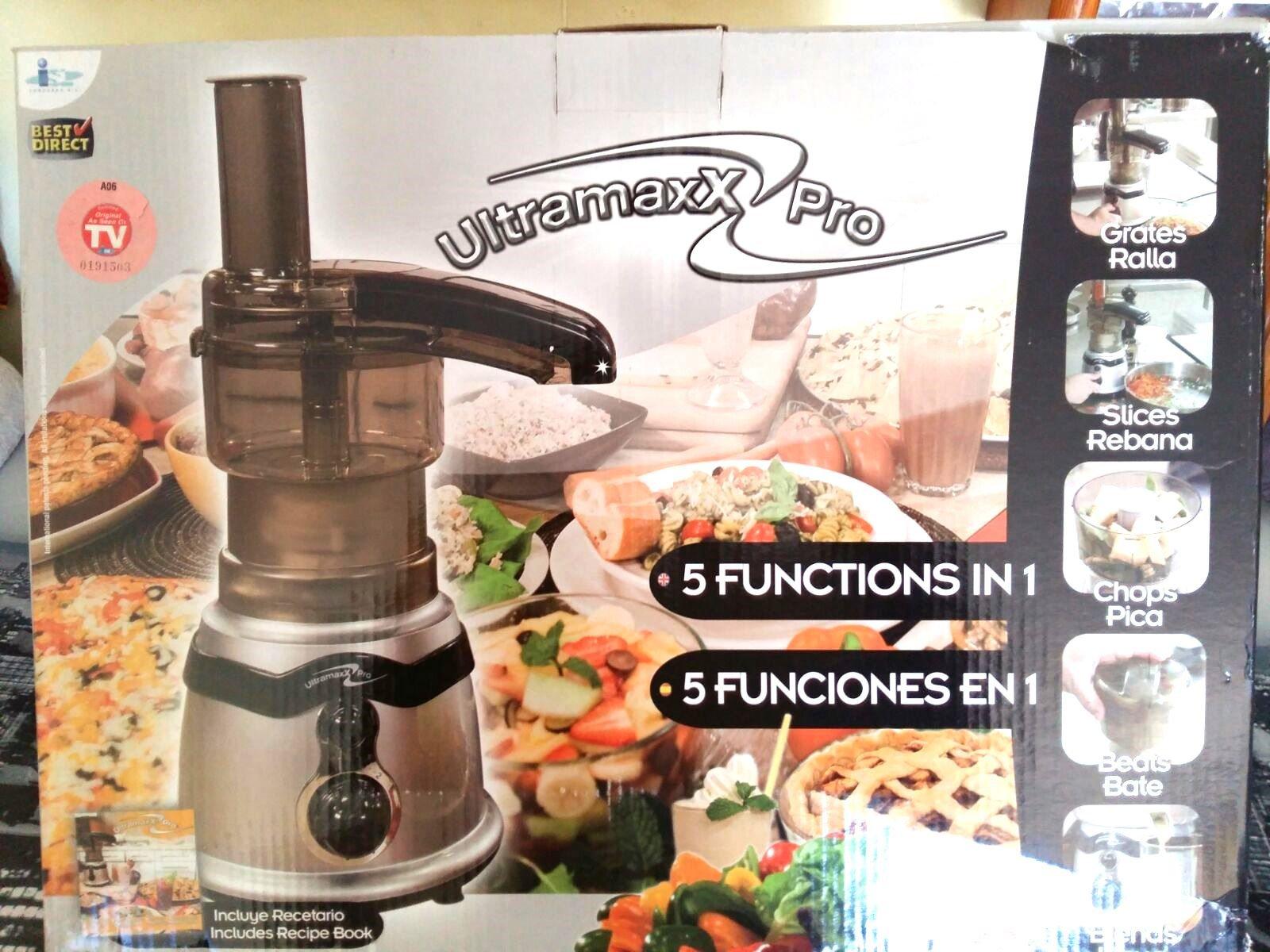 Ultramaxx Pro robot de cocina 5 funciones OFERTA: Amazon.es: Hogar