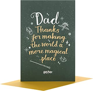 Hallmark Harry Potter Dad Father's Day Card 'Magical Place' - Medium