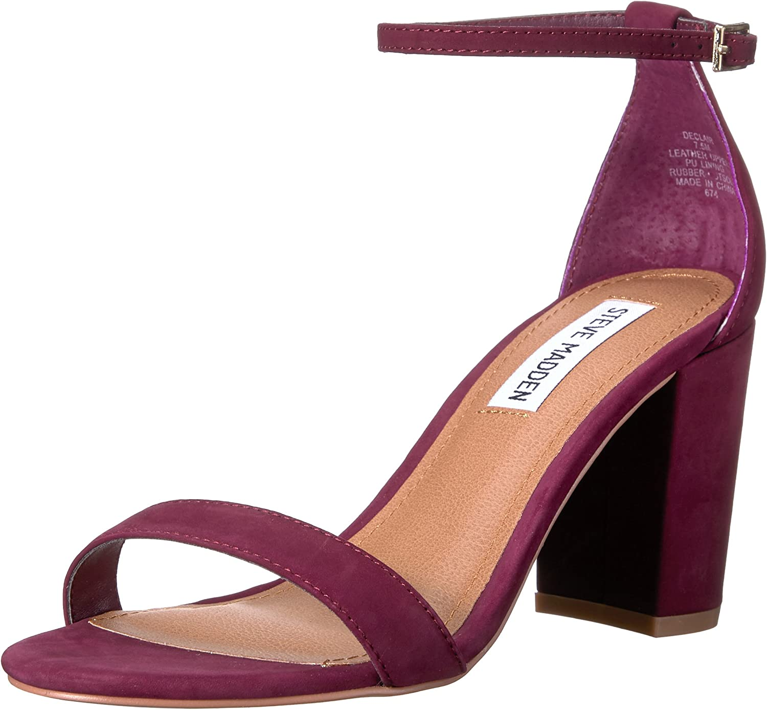 Steve Madden Womens Declair Dress Sandal