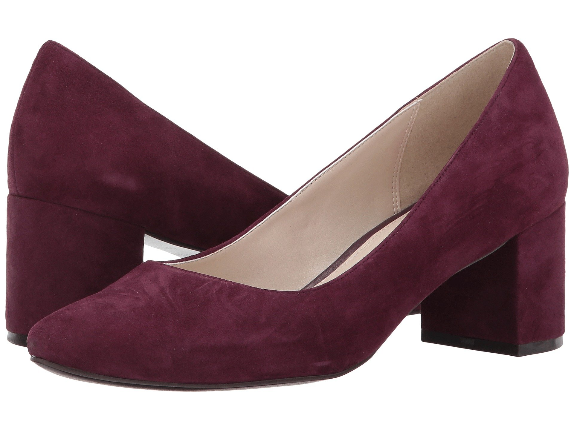 Claudine Pump 55Mm Ii, Fig Suede