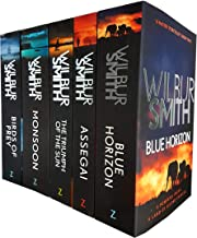 The Courtney Series, 5 Books 9 to 13 Collection set (Birds of Prey, Monsoon, Blue Horizon, The Triumph of the Sun, Assegai)