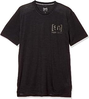 [エスエヌ スーパーナチュラル] アウトドア メリノウール Tシャツ メンズ SNM015250