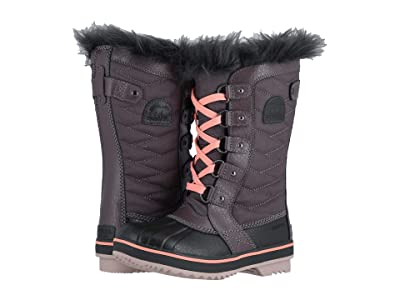 SOREL Kids Tofino II (Little Kid/Big Kid) (Purple Sage/Coal) Girls Shoes