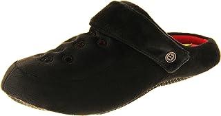 Footwear Studio Dunlop Mens Fleece Clog Slippers