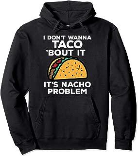 Funny National Taco Day Hoodie Men Women Nacho Tuesday