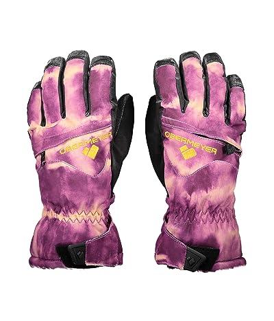 Obermeyer Kids Lava Gloves (Little Kids/Big Kids) (Tie-Da) Extreme Cold Weather Gloves