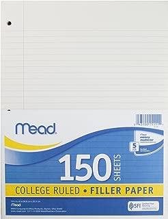 Mead Loose Leaf Paper, Filler Paper, College Ruled, 150 Sheets, 10-1/2