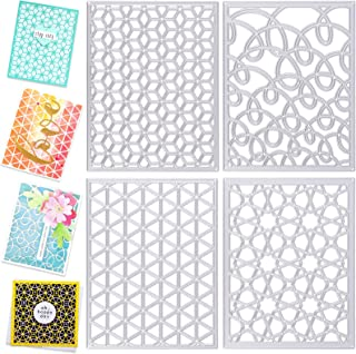 Square Burlap Background Metal Cutting Dies Stencil Scrap-Booking Paper Cards