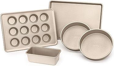 OXO Good Grips Non-Stick Pro Bakeware Set 5-Piece Set Metallic