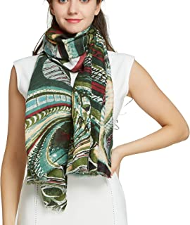Big Neck Scarfs for Women - Long Cotton Shawl Scarf Fall Viscose Large Scarf…