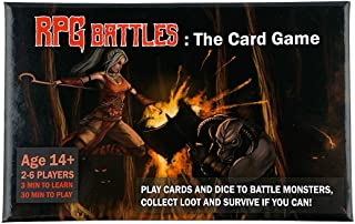 RPG Battles: The Card Game | Roleplaying | Dungeons Dragons | TTRPG | Battle Game | 2-6 Players