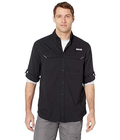 Columbia Low Drag Offshore Long Sleeve Shirt (Black) Men