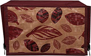 Heart Home PVC 1 Piece Microwave Oven Cover 20 LTR (Brown) - CTHH02549