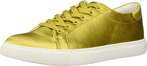 Kenneth Cole New York Wohommes Kam Techni-Cole Satin Lace-up paniers, jaune or, 6 M US