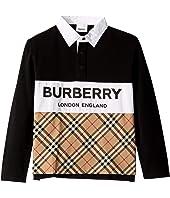 Burberry Kids - Quentin Polo (Little Kids/Big Kids)