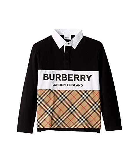 Burberry Kids Quentin Polo (Little Kids/Big Kids)