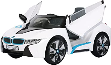 Rollplay 6V BMW I8 Kid's Ride-On Car - for Boys & Girls Ages 3 & Up - Battery-Powered Ride On Toy- White