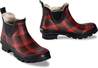 Pendleton Women's Classic Chelsea Ankle Length Slip-Resistant Rain Boot