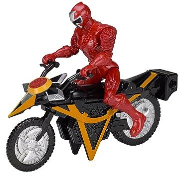 Power Rangers Super Ninja Steel Mega Morph Cycle, Red Ranger