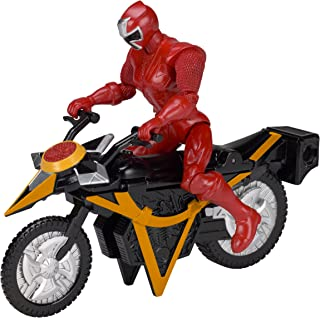 Power Rangers Ninja Steel Power Rangers Mega Morph Cycle with 5-Inch Red Ranger Figure