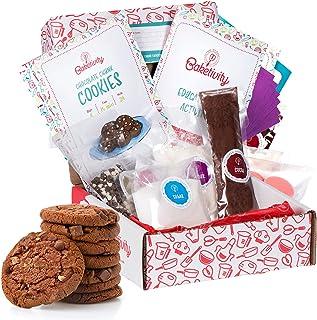 (Baketivity Kit, Chocolate Chunk Cookies) - BAKETIVITY Kids Baking DIY Activity Kit - Bake Delicious Chocolate Chunk Cooki...