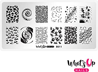 Whats Up Nails - B011 Intergalactic Encounters Stamping Plate for Nail Art Design