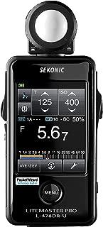 Sekonic LiteMaster Pro L-478DR-U Light Meter for PocketWizard System (401-477)