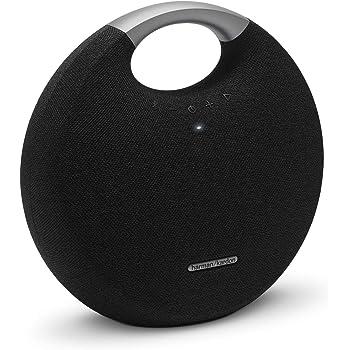 Harman Kardon HKOS5BLKAM Bocina Portátil Bluetooth con Micrófono, color Negro