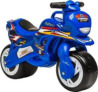 INJUSA - Moto Correpasillos Tundra, para Niños de +12m, Color Azul (195/000)