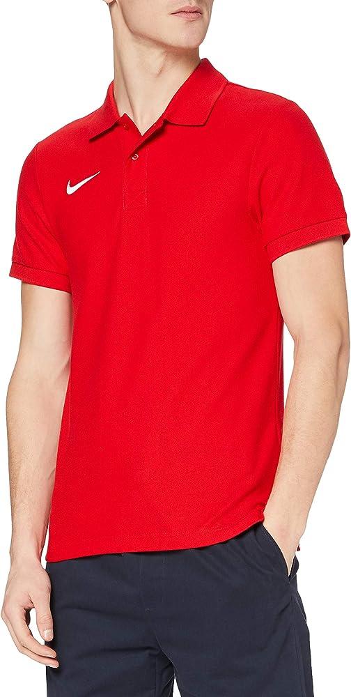 Nike ts core polo magliettada uomo a maniche corte 100% cotone 454800-100