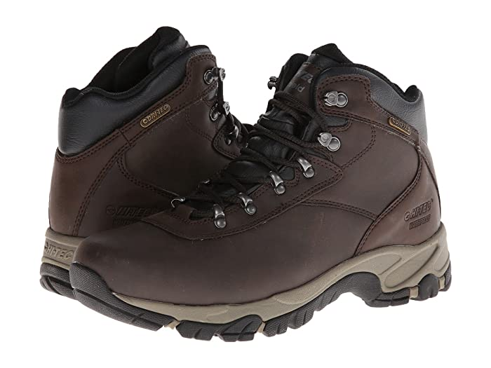 Hi-Tec  Altitude V I WP (Dark Chocolate/Light Taupe/Black) Mens Hiking Boots