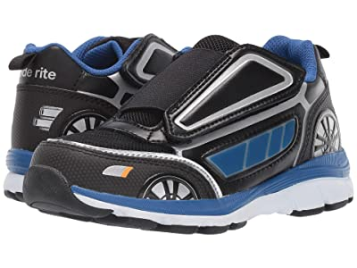 Stride Rite Vroomz Crusier Chase (Little Kid) (Black/Blue) Boys Shoes