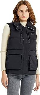 Orolay Women's Light Down Vest Packable Stand Collar Jacket Winter Puffer Gilet
