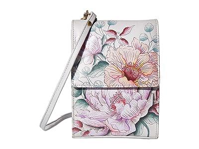 Anuschka Handbags Mini Sling Organizer 412 (Bel Fiori) Cross Body Handbags