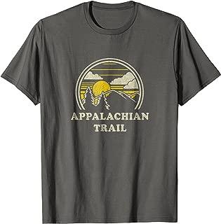 Appalachian Trail T Shirt Vintage Hiking Mountains Tee