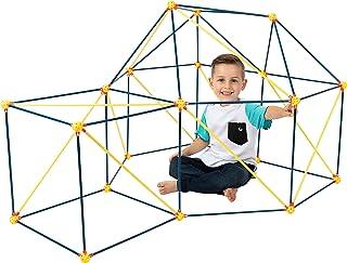 ToyVelt Fort Building Kits for Kids - 90-Piece Children's Crazy DIY Fort Building Toys Set for Indoor and Outdoor Forts - ...