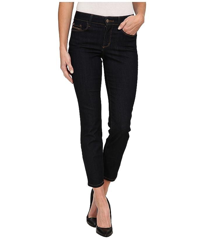 NYDJ Alina Ankle in Dark Enzyme (Dark Enzyme) Women's Jeans