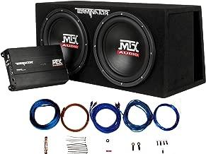 MTX Audio TNP212DV Dual 12