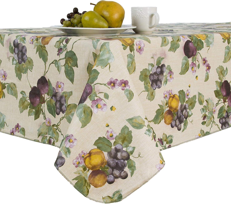 Geometric  Snack Food Healthy Sfaut15 Cotton Sateen Table Runner by Spoonflower Apples In Green by heleenvanbuul Fruit Table Runner