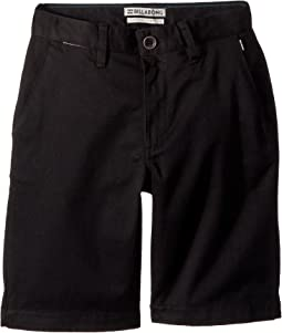 Billabong Kids Carter Stretch Shorts (Big Kids)