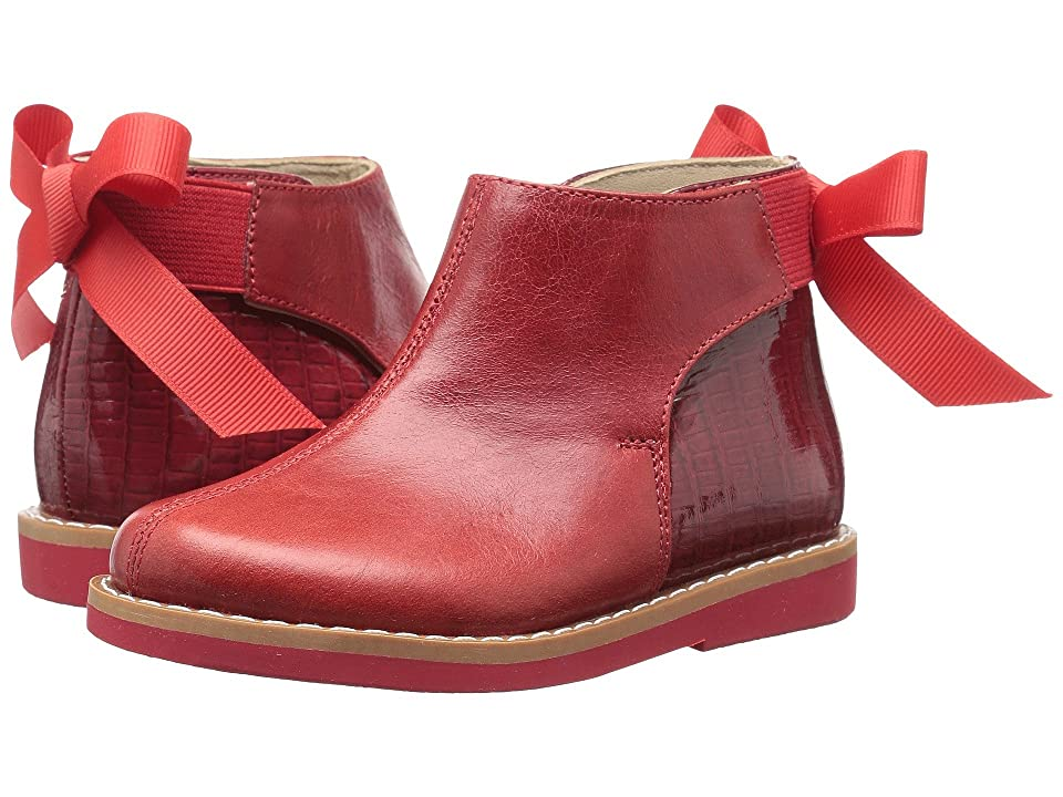 Elephantito Anabelle Bootie (Toddler/Little Kid/Big Kid) (Red) Girls Shoes