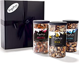 Funky Chunky Triple Flavor Gift Pack (Chip Zel Pop, Sea Salt Caramel, Chocolate Pretzel)
