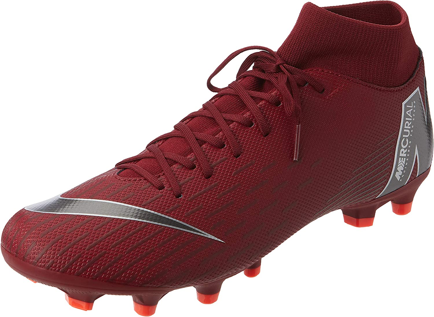 Nike Mercurial Superfly 6 Academy MG Soccer Cleat (Team Red) (Men's 8 Women's 9.5)