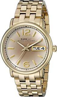 Marc by Marc Jacobs Women's MBM3429 Fergus Analog Display Analog Quartz Gold Watch