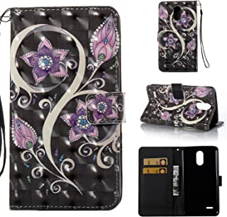 NEXCURIO LG Stylo 3 Plus/Stylo 3 Wallet Case with Card Holder Folding Kickstand Leather Case Flip Cover for LG Stylo 3 Plus - YBO301278#6