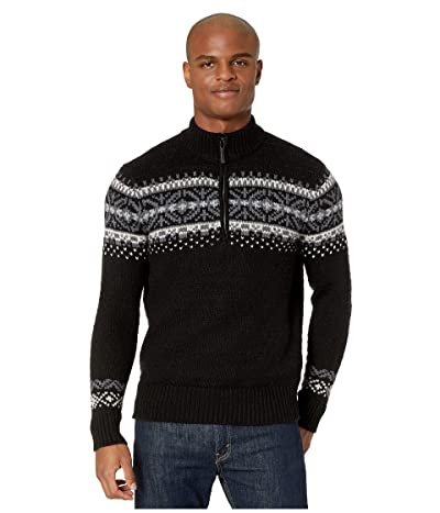 Smartwool CHUP Hansker 1/2 Zip Sweater (Black) Men