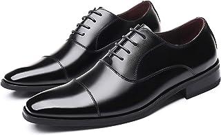 [Firtsagy] ビジネスシューズ メンズ 革靴 レースアップシューズ ストレートチップ 紳士靴 本革 大きいサイズ ブラウン・ブラック 24.0cm-30.0cm